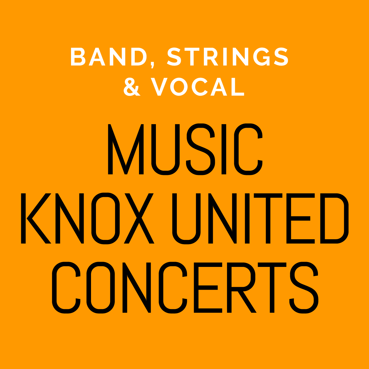 Music Knox United Concerts